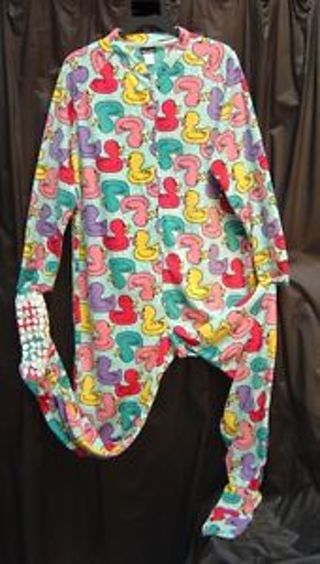 Free: ADULT PAJAMAS NWT FOOTED DUCK ZIP UP - Other Womens