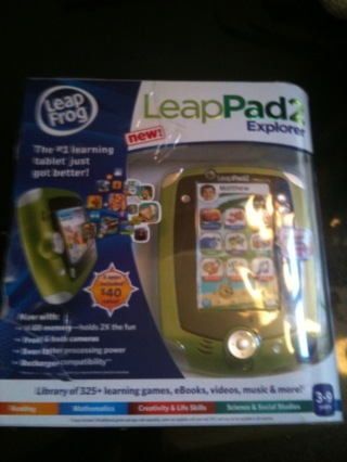 ~~~LEAPFROG LEAPPAD 2~HOT TOY FOR THIS HOLIDAY SEASON! LOOK!! GIN OPTION! SHIPS, FREE!! WOW!!~