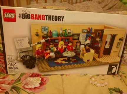 Lego The Big Bang Theory * New * 7 Mini Figs * 484 pieces *