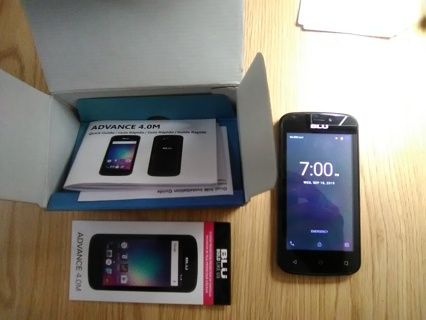 BLU Advance 4.0M 4GB Dual SIM GSM Smartphone