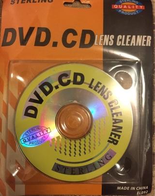 DVD.CD Lens Cleaner