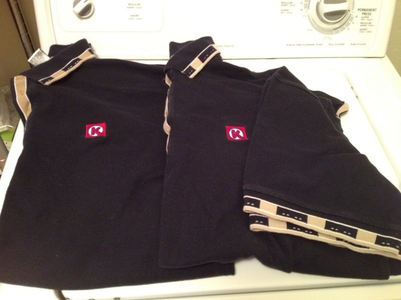 Circle K Rewards: Free: 2 Circle K Uniform Work Shirts
