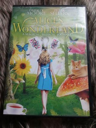 Alice's Adventures in Wonderland DVD