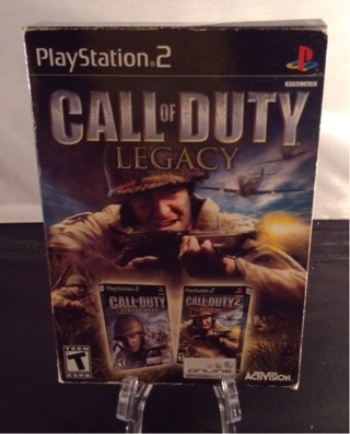 CALL OF DUTY LEGACY PLAYSTATION 2