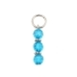 Choice of One Alloy and Resin Knitters Stitch Marker (Would Also make Great Pendant Drop) - 44x12mm