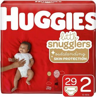 ♥️HUGGIES LITTLE SNUGGLERS SIZE 2, 29 CT♥️