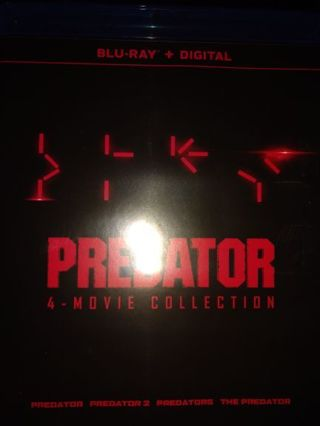 Predator 4 movie collection!!