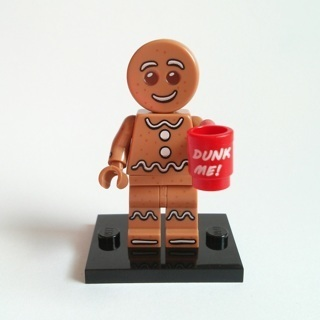 New Gingerbread Man Minifigure Building Toys Custom Lego
