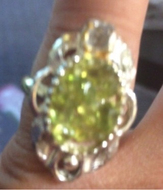 Size 6 ring!  Free shipping with tracking worldwide!