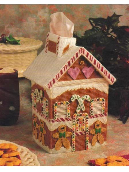 Free Plastic Canvas Gingerbread House Pattern