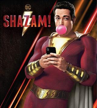 Shazam 4K UHD Code Digital Movie MA Redeem