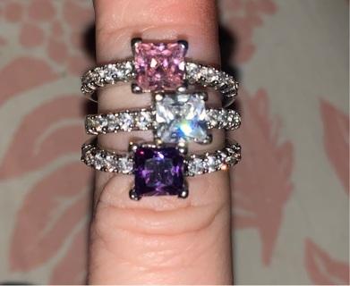 Set of three very pretty rings!
