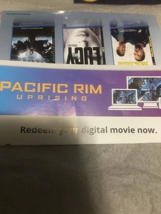 Code for digital movie Pacific Rim Uprising