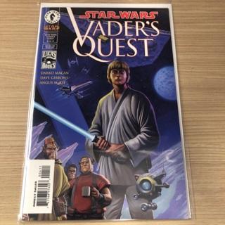 Star Wars Vader's Quest #4 Dark Horse Comic