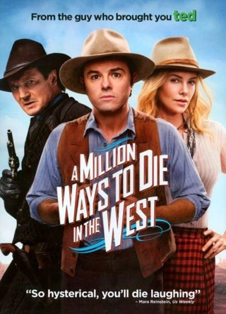 A Million Ways to Die in the West (Unrated)   HD GooglePlay Digital Copy Code Transfers to MA, Vudu
