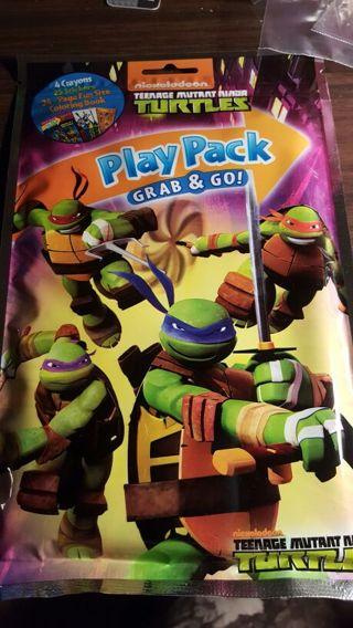Play pack turtles