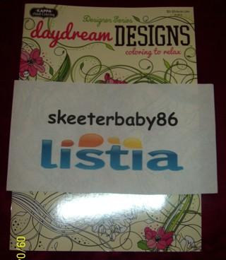 Kappa Adult Coloring Designer Series Daydream Designs