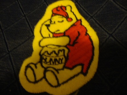 Vintage Winnie the Pooh Patch or Applique ~ Free Shipping