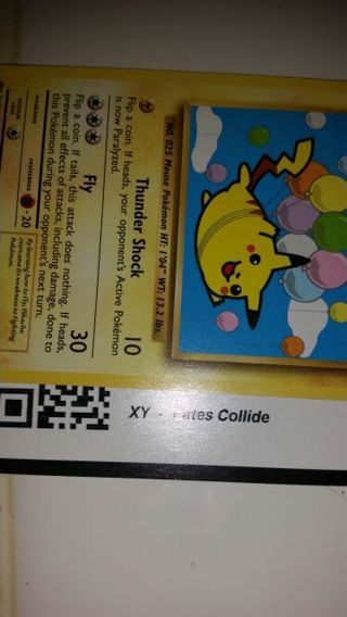 Online Pokemon Booster Pack Code (Fates Collide)
