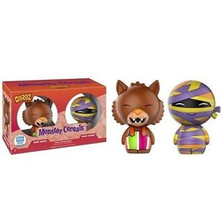 Monster Cereals Funko Dorbz Fruit Brute and Yummy Mummy Limited to 2,000 2-pack