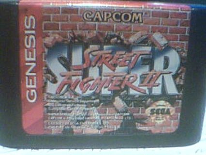 """SEGA GENESIS STREET FIGHTER 2 """