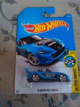 '15 MAZDA MX-5 MIATA HOT WHEELS CAR