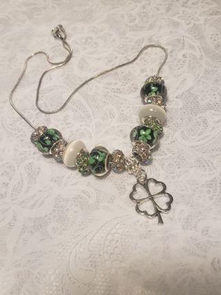 Euro Necklace ♧♧ Happy Saint Patricks Day ♧♧