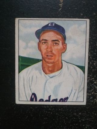 Authentic 1950 Bowman Billy Cox (Brooklyn Dodgers) + More