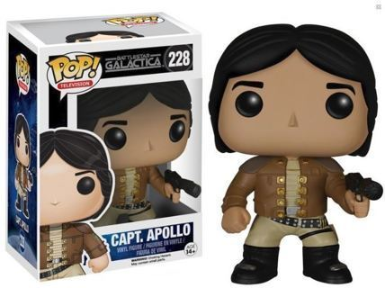 NEW Funko Pop Battlestar Galactica Classic-Apollo Action Figure Vinyl Toy FREE SHIPPING