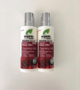 2 NEW Organic Doctor Rose Cleansing Milk • Free Shipping
