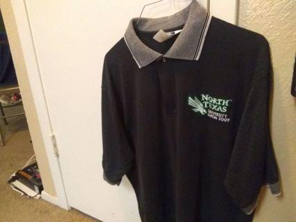 Men's north texas shirt large