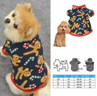New Cute Small Dog Clothes Sweater Warm Puppy Pet Cat Coat Vest Shirt Apparel