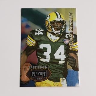 Edgar Bennett 1995 Playoff Prime #105 Packers
