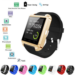 Smart Wrist Watch Bluetooth Phone Mate For IOS Android iPhone Samsung HTC LG
