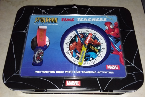 Spider-Man 2003 Time Teachers in Collectible Tin