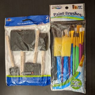 29 Paint Brushes (2 Packages)