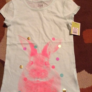Girl's size M (7-8) Easter shirt New with tags
