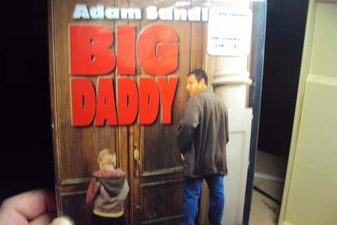 "Adam Sadler in ""Big Daddy"" DVD"