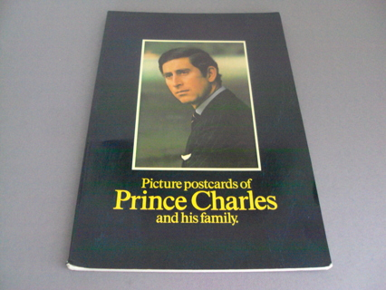 Princess Diana Prince Charles Post Card Book