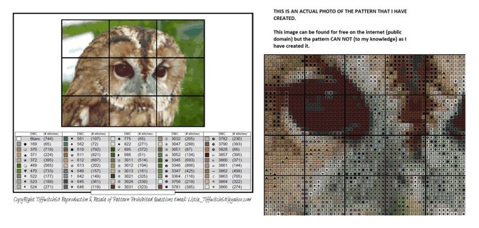 Owl Cross Stitch Patterns ***Winners Choice***