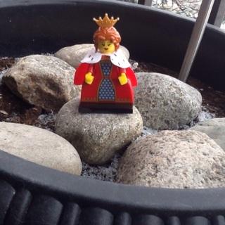 Lego queen Minifigure