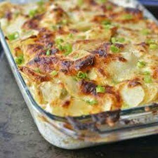 *Recipe* Apple and Potato Gratin
