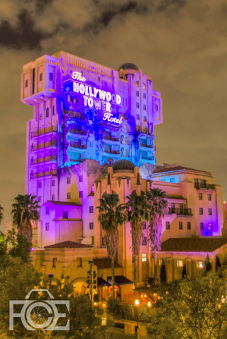 Free Hdr Disneyland Hollywood Tower Of Terror Iphone