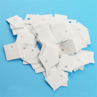 10Pcs TO-220 Alumina Ceramic Transistor Triac Thyristor Insulator Protection