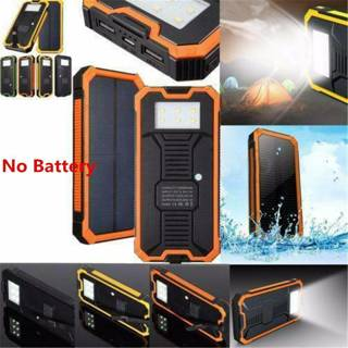 50000mAh Solar Power Bank Waterproof 2 USB LED Battery Charger For Cell Phone