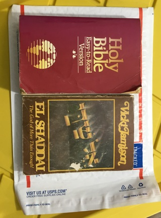 RELIGIOUS BOOKS THE BIBLE EL SHADDAI PAPERBACK FREE SHIPPING