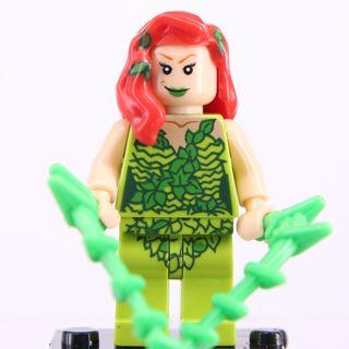 New Poison Ivy Minifigure Building Toy Custom Lego