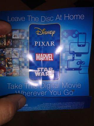 Disney Moana movie code