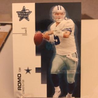 2007 Rookies And Stars Tony Romo Card