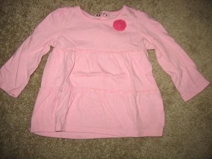 baby Girl long sleeve shirt 12M